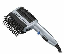 Hair Blow Dryer Styler Straight Curl Silky Comb Brush with Ionic Technology