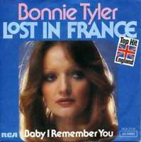 """Bonnie Tyler Lost In France 7"""" Single Vinyl Schallplatte 33928"""