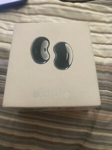 New SAMSUNG BUDS LIVE EAR BUDS (black), FACTORY SEALED SM-R180NZKAXAR