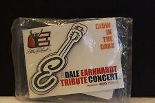 Dale Earnhardt Tribute Concert Guitar Glow in the Dark Pin Nascar Nabisco Kraft
