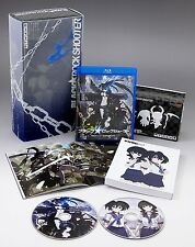 BLACK ROCK SHOOTER Blu-ray&DVD Nendoroid Set Limited Edition JAPAN NEW