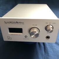 LUXMAN D/A Converter DA-100 Headphone Amplifier USB Luxman Japan Import Used DAC