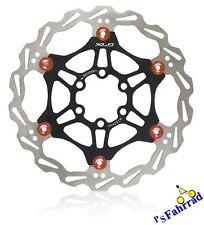 XLC Bremsscheibe für Shimano Magura BR-X50 Ø160mm 6-Loch schwarz/rot Fahrrad