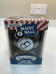 #Winning Mystery Magic 8 Ball Classic Retro Novelty Toy