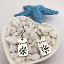 Forever Earrings Tibet silver Charms Earrings Charm Earrings for Her