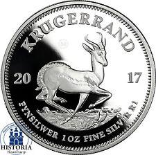 Krügerrand 2017 Silber 50 Jahre Jubiläumsausgabe in PP im Etui mit Zertifikat