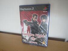 PS2 Vampire Night UK Pal ,  New & Sony Factory Sealed
