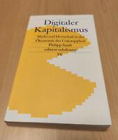 Digitaler Kapitalismus Philipp Staab suhrkamp edition gebraucht, guter Zustand
