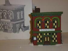 Department 56 New England Village Woodbridge Post Office #56572