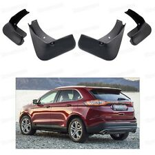 car mud flaps splash guard fender mudguard for ford edge 2015 2016 2017 fits ford edge