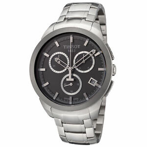 Tissot Men's T0694174406100 Titanium 43mm Anthracite Dial Titanium Watch