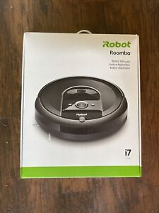 iRobot Roomba I7 7150 Wi-Fi Connected Robot Vacuum (Black) New, Never Opened