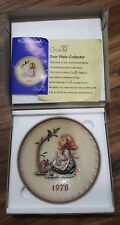 Hummel Goebel 1978 Collector Plate Box Hum271 W Germany , Happy Pastime New