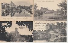 Lot 4 cartes postales anciennes CLISSON 3