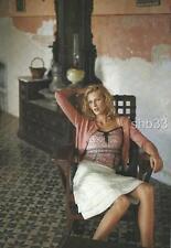 RARE Anthropologie 04 BLACK Magnolia Cardigan Sweater Top HWR Monogram 4 6 S