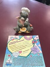 "1996 Enesco Calico Kittens ""You'Re The Chef'S Meow� 254967 With Certificate"