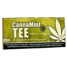 CannaMint Hanf Minze Tee - 25 Teebeutel - Hanftee Tee