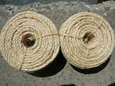 """New listing Cat Scratch Post Replacement Material 1/4"""" x 200 ft Natural Sisal Fiber Rope"""