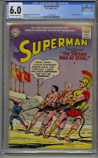 SUPERMAN #112 CGC 6.0 LUTHOR APPEARANCE