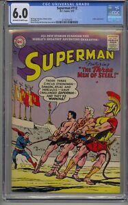 SUPERMAN #112 CGC 6.0 LUTHOR APPEARANCE