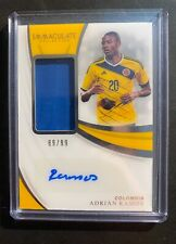 Adrian Ramos 2018-2019 Panini Immaculate Auto Relic 89/99 Colombia soccer fifa
