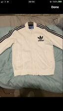 Adidas Originals Mens White/Black Jacket, Size Medium