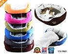 Small Soft Indoor Pets Dog Cat Puppy Bed Warm Sofa House Mat Nest Cushion Fleece