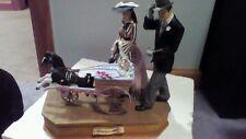 Gone with the Wind San Francisco Music Box RHETT & Scarlett baby carriage figure