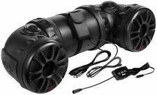 "NEW Boss ATV85B Dual 8"" 700 Watt ATV/Marine Powered Speaker System w/ Bluetooth"