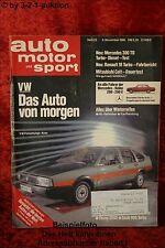 AMS Auto Motor Sport 23/80 * Mercedes 300 TD VW Bulli Saab 900 turbo