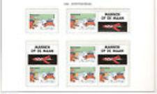 Nederland alle combinaties  uit  postzegelboekje 59  postfris/MNH