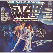 GEOFF LOVE & HIS ORCHESTRA Star Wars And Other Space Themes 1978 UK Vinyl LP