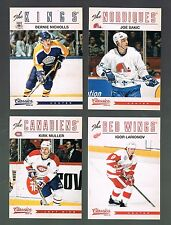 IGOR LARIONOV #61 Red Wings NHL LEGEND  2012/13 Panini Classics Signatures
