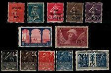 ANNÉE 1930 Complète, Neufs * = Cote 343 € / Lot Timbres France (12 timbres)