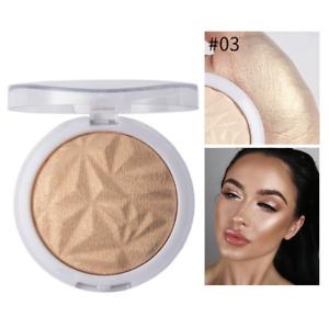 Highlighter Bronzers Makeup Face Contour Shimmer Powder Cosmetics Palette Glow
