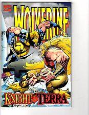 4 Marvel Comics Wolverine Knight Of Terra Vs. Spider-Man Logan Warlord # 1 J203