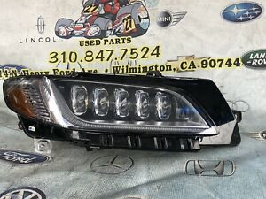 2017 2018 2019 LINCOLN CONTINENTAL BLACK LABEL RH RIGHT FULL LED HEADLIGHT SHELL