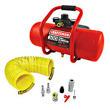 Craftsman 3 Gallon Oil-Free Portable Electric Air Compressor & 7 Piece Acc Set