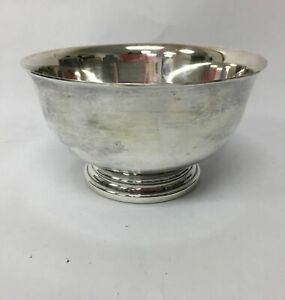 Vintage Gorham YC778 Silverplate Small Footed Bowl