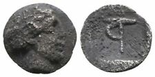Koc Greek Coins. ARKADIA- Tegea. Hemiobol, before 434 BC. 7mm. 0,28g.