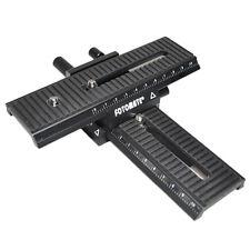 2 Way Macro Focusing Rail Slider 1/4 Screw for Digital Camera SLR LP-01 IS