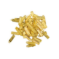 50pcs Lot Gold Plated Made With Love Charms 18 x 5mm Pendants Beads DIY