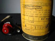 Aircraft circuit breaker Klixon PLMS-120 Sealed in original can