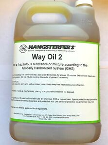 HANGSTERFER'S WAY OIL 2  LUBRICATION & LUBRICITY - GALLON CONTAINER