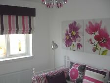 Made to Measure Chain Lift Roman Blinds (sample & quote )