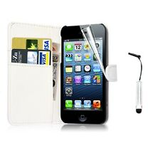New Wallet Flip PU Leather Phone Case Cover For iPhone Samsung Galaxy Huawei