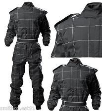 Proban RACE SUIT KART AUTOGRASS BANGER Suit BLACK all ADULT sizes Fireproof