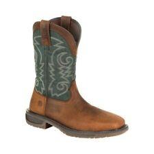 Durango Boot Men's   DDB0192 Workhorse Steel Toe Western Work Boot Bridle
