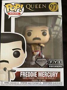 Funko POP! Queen: Freddie Mercury #97 (FYE Exclusive, Diamond Collection)