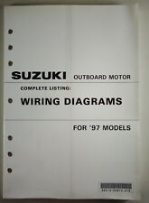 Wiring Diagrams Suzuki Outboard Motor For 1997 Models